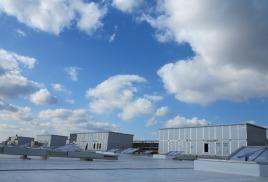 Приточные установки большой производительности на заводе по производству кабин самолетов Boeing-787