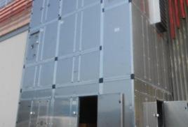 Вертикальная приточная установка высотой 10 метров
